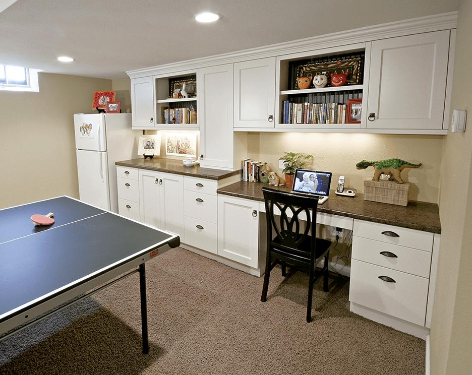 basement remodeling designer