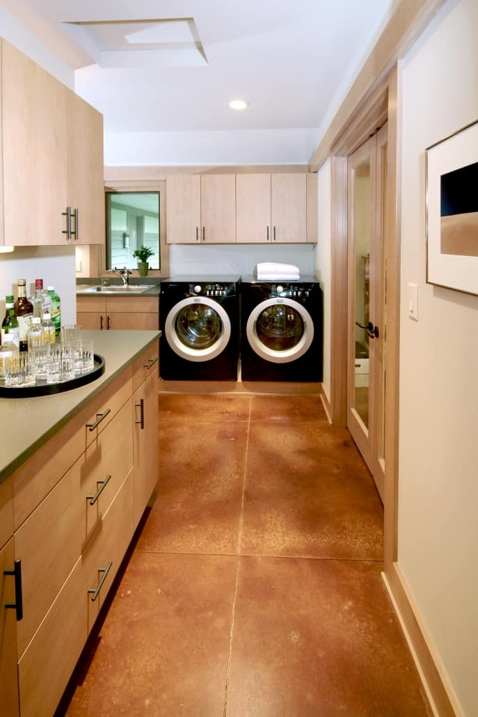add a laundry room